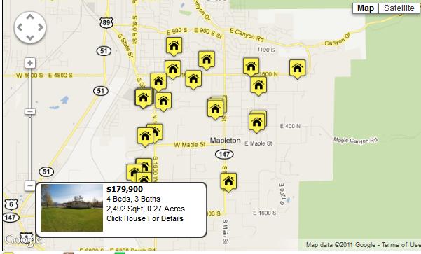 Mapleton Homes For Sale